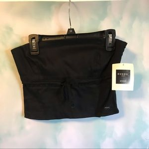 Guess NWT bandeau Crop Top Sleeveless Stretchy